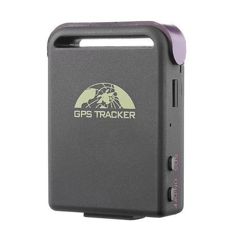 Mini Gps Tracker Anysun Quad Band Realtime Smallest Spy Car GPS Mini Waterproof System Tracker TK102B with TF Slot