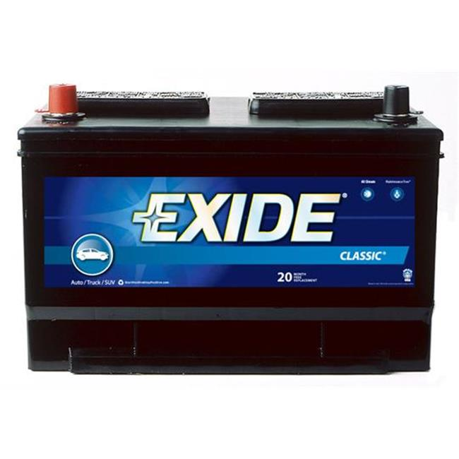 Exide Battery Review >> EXIDE BAT. 65C Battery 12 Volts - Walmart.com