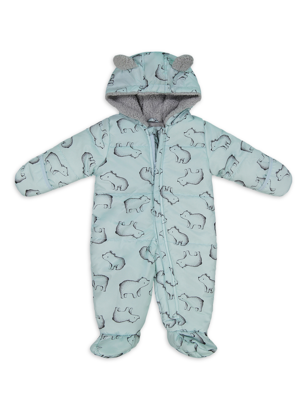 Borlai Newborn Baby Winter Coats Cute Warm Thick Cloak Jacket Hoodie Outwear 0-18 Months
