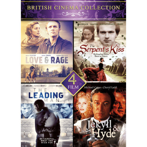 4-Film British Cinema Collection: Love & Rage / The Serpent's Kiss / The Leading Man / Jekyll & Hyde