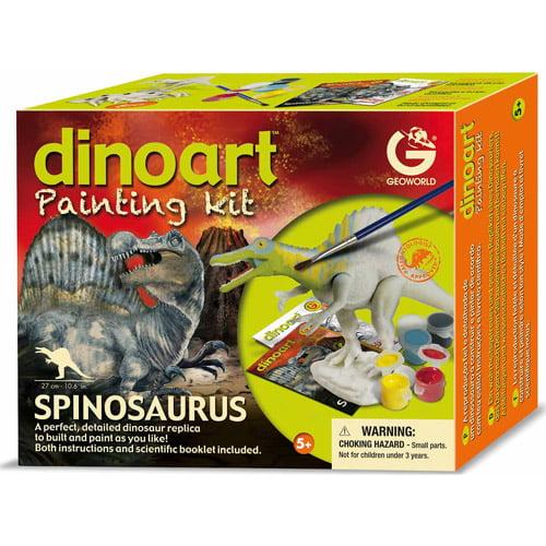 GeoWorld Dinoart Painting Kit, Spinosaurus