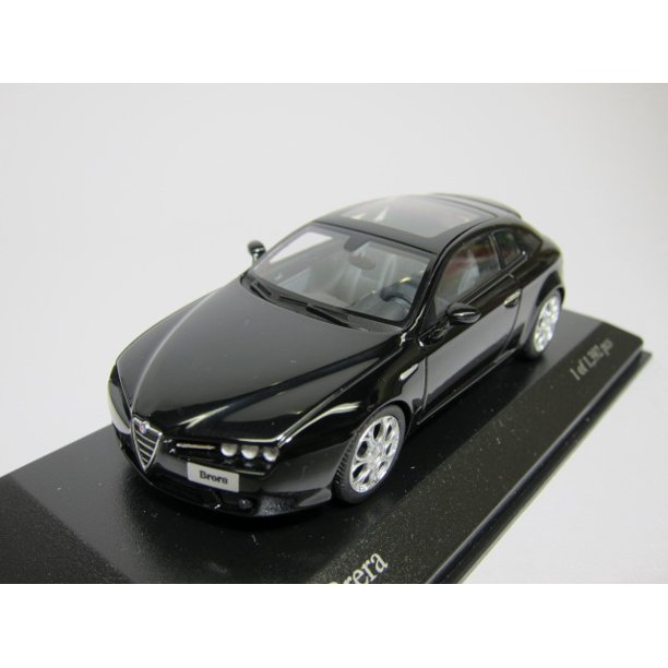 ALFA ROMEO BRERA 2005 In BLACK Diecast Model Car In 1:43