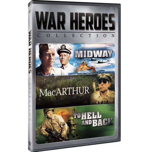 War Heroes Collection: Midway / MacArthur / To Hell And Back (With INSTAWATCH)