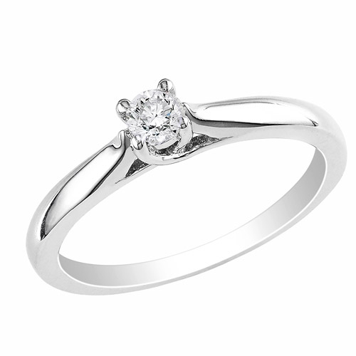 premium 1/6 carat diamond solitaire engagement ring 0UBYw