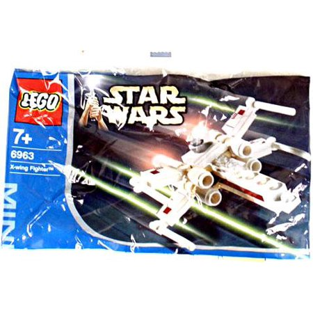 LEGO Star Wars A New Hope X-Wing Fighter Mini Set #6963 - Lego Mini X-wing