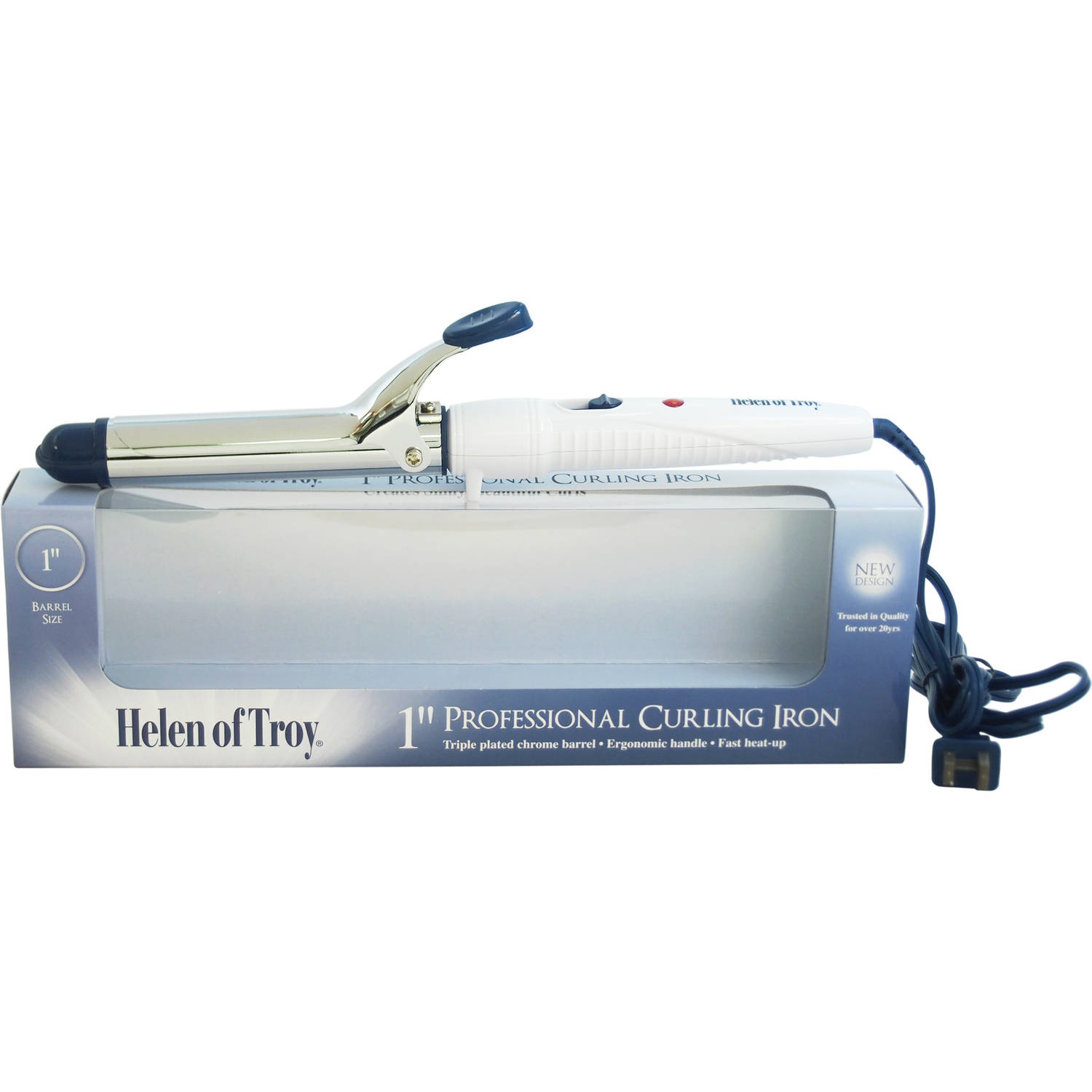 "Helen Of Troy Professional Model #1581 White 1"" for Unisex Curling Iron"