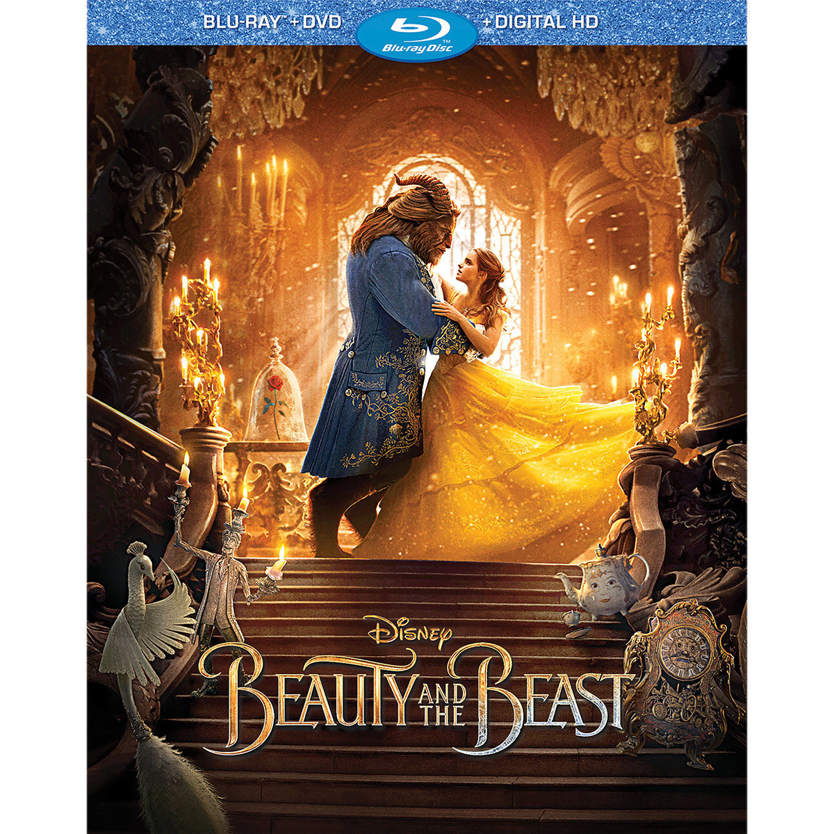 Beauty And The Beast Live Action Blu Ray Dvd Digital Hd