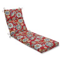 Daelyn Cherry Outdoor Chaise Lounge Cushion