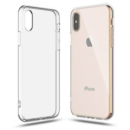 online store a2cb0 9ab4d iPhone XS Max Crystal Clear Transparent TPU Case Soft