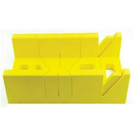 Master Mechanic 176131 Miter Box, Polystyrene, 16-In. - Quantity 1 ()