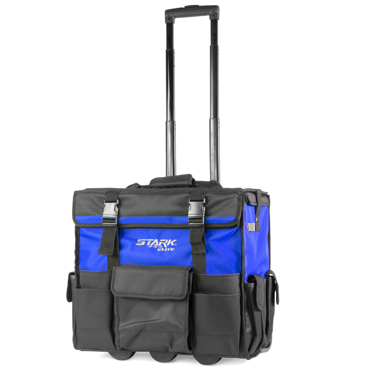 STKUSA 20 inch Wide Mouth Rolling Tool Bag W/ Divider