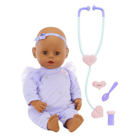 Baby Born - Mommy Make Me Better - Interactive Baby Doll - Brown Eyes - Me Doll
