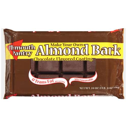 Plymouth Pantry Almond Bark Chocolate Baking Bar, 24 oz