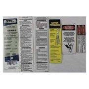 LOUISVILLE PK-FS1100HD Label Kit
