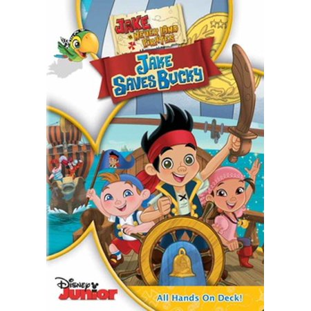 JAKE & THE NEVERLAND PIRATES-JAKE SAVES BUCKY (DVD) (DVD)