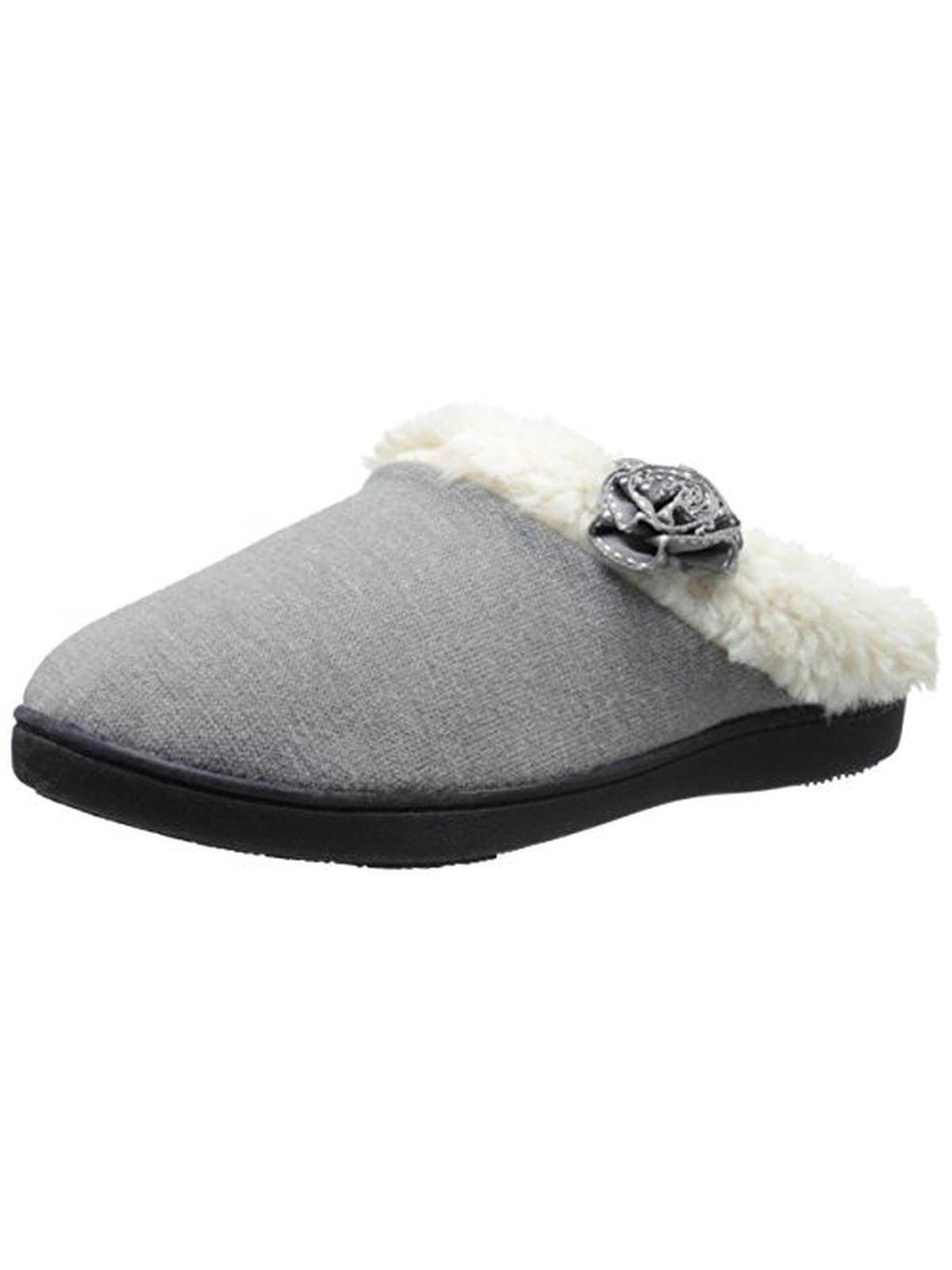 Isotoner Womens Knit Memory Foam Slip-On Slippers