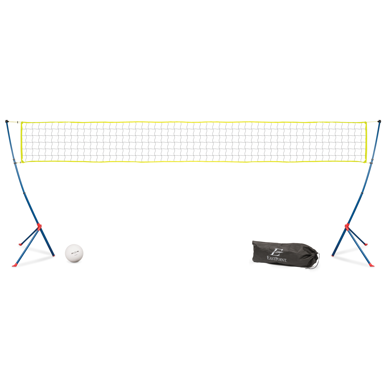 EastPoint Sports Easy Setup Portable Tripod Volleyball Net Set