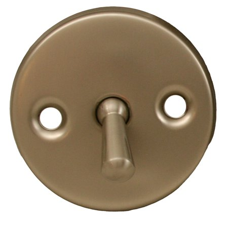 Brushed Nickel Trip Lever Faceplate and Handle ,PartNo P3566BN
