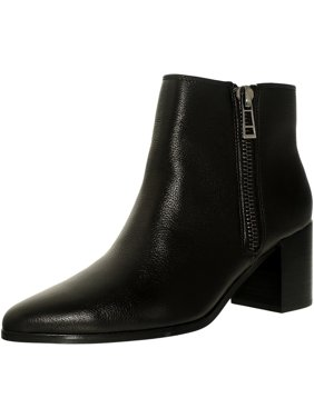 Charles By David Women's Uma Leather Black Ankle-High Boot - 6.5M