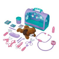 Kid Connection 20-Piece Veterinary Play Set with Plush Puppy