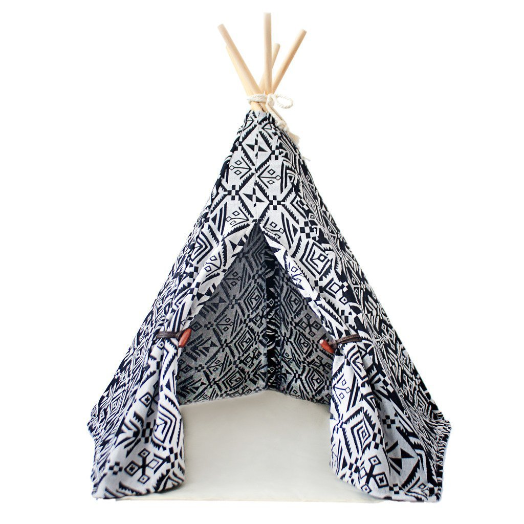 little dove Pet Teepee Dog ; Cat Bed - Portable Dog Tents...