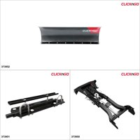 "ClickNGo GEN 2 ATV Plow kit - 54"", Honda Rincon 650 2003-05 Black / Titanium Gray  #KK00000026_31"