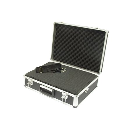 Aluminum Hard Case - A501 - Large Black Aluminum Hard Case - 18.1