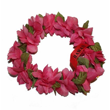 Solid Pink Color Hawaii Elastic Haku Headband - Walmart.com 92a573d4941