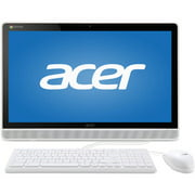 "Acer White DC221HQWMICZ All-in-One Desktop PC with NVIDIA Tegra K1 Quad-Core Processor, 4GB Memory, 21.5"" Touchscreen, 16GB SSD and Chrome OS"