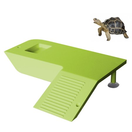 Frog Aquarium Ornament - Turtle Frog Floating Island Aquatic Pet Reptile Supplies Aquarium Ornament Turtle Pier Reptile Habitat