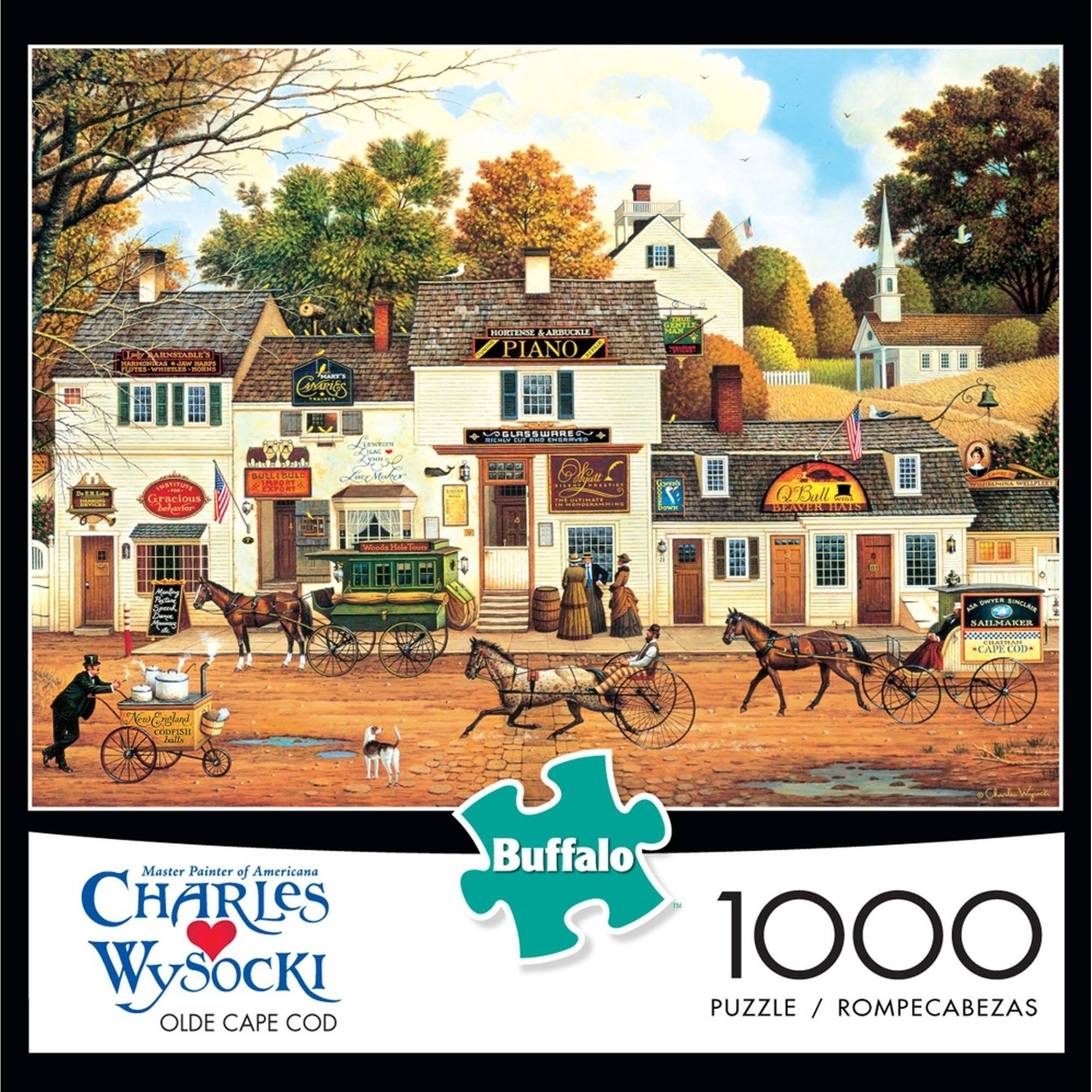 1000-Piece Wysocki: Olde Cape Cod Puzzle by Buffalo Games