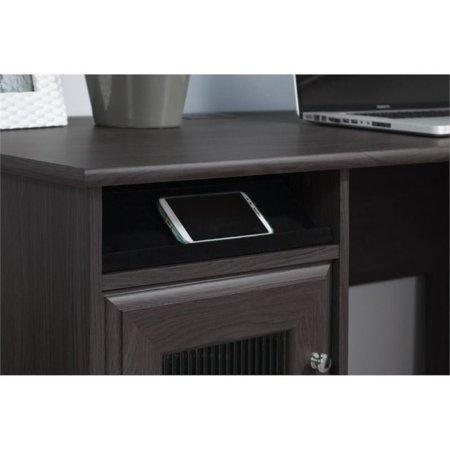 Bush Furniture Cabot L Shaped Computer Desk in Heather Gray - image 1 de 7