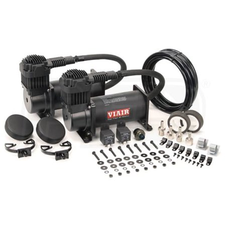 VIAIR Dual 400C 12 Volt 150 PSI Chrome Air Accessories Compressor Kit Value (Best Value Air Compressor)