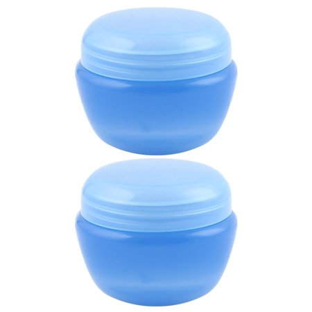 Travel Plastic Cream Container Cosmetic Storage Bottle Organizer Blue 32ml (Plastic Cosmetic Bottles)