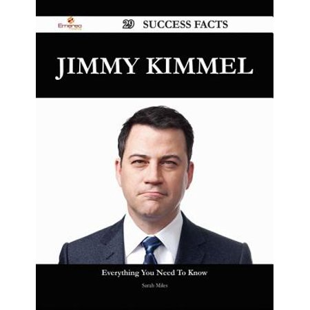 Jimmy Kimmel 29 Success Facts - Everything you need to know about Jimmy Kimmel - eBook - Halloween Kids Jimmy Kimmel