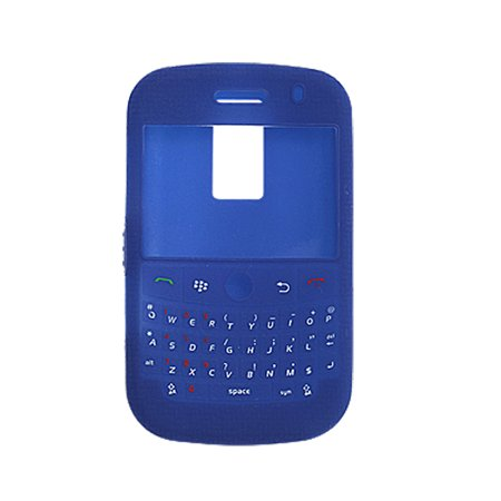 Jewelers Skin Guard - Unique Bargains For Blackberry 9000 Silicone Skin Cover Case Guard Blue Qahjl
