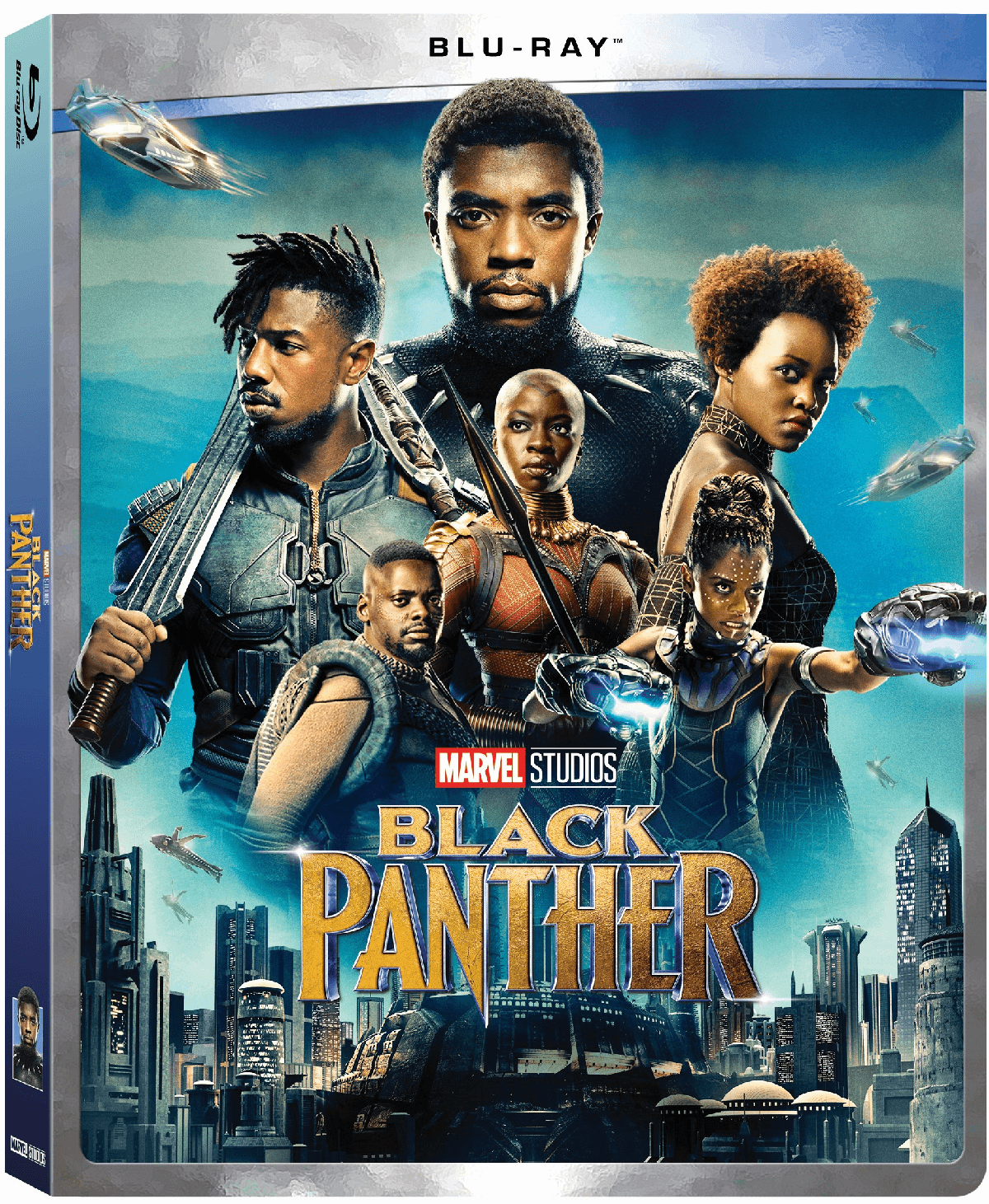 Black Panther (Walmart Exclusive) (Blu-ray) by Buena Vista