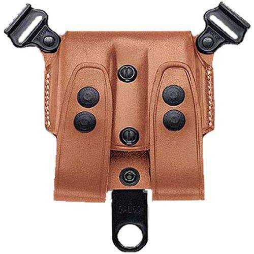 Galco SCL24 SCL Double Mag Carrier 24 Holds 2 Magazines, Tan Leather by GALCO INTERNATIONAL