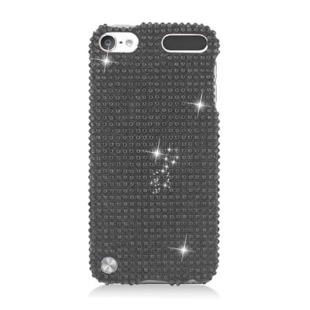 iPod Touch 6th Generation Case, iPod Touch 5th Generation Case, by Insten Rhinestone Diamond Bling Hard Snap-in Case Cover For Apple iPod Touch 5th