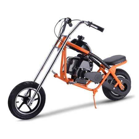 MotoTec Gas Mini Chopper 49cc Orange