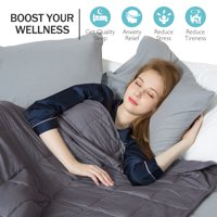 Weighted Blanket Heavy Blanket to Improve Sleep for People With Anxiety