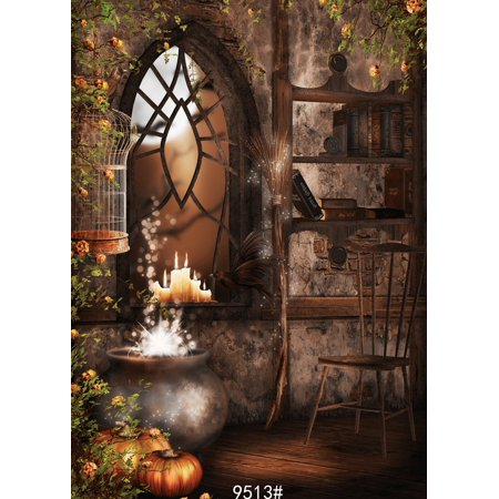 GreenDecor Polyster 5x7ft Halloween theme photography Backdrop Background studio prop](Desktop Backgrounds Halloween Theme)