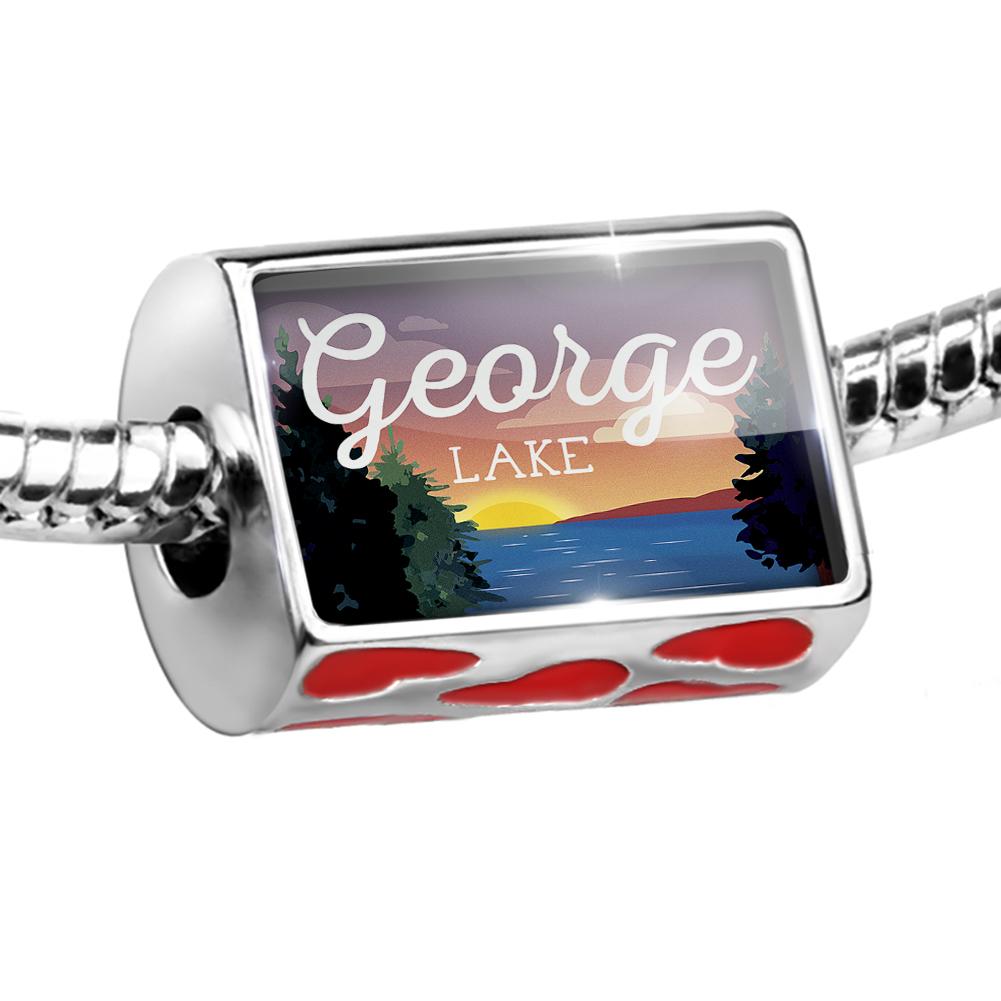 Bead Lake retro design Lake George Charm Fits All European Bracelets