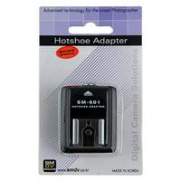 SMDV Hot Shoe Adapter SM-601 for Sony Alpha, Konica Minolta, Maxxum DSLRs that use a standard Hot Shoe Flash (fits Sony A100, A200, A230, A290, A300, A330, A350, A380, A390, A450, A500, A550, A560, A5