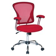 Juliana Task Chair, Red Mesh