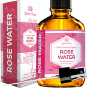 Leven Rose Organic Rose Water, 4 Fl Oz