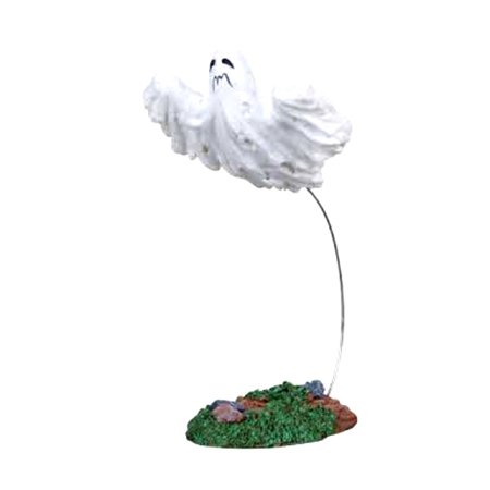 Lemax 12891 FLYING GHOST Spooky Town Figurine Retired Halloween Decor Figure