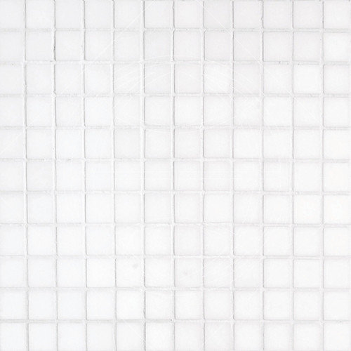 Epoch Architectural Surfaces Thassos 1'' x 1'' Marble Mosaic Tile in White