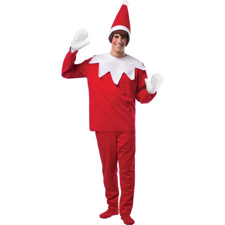 Elf on a Shelf Adult Christmas Costume - Elf Dressing Up Costume