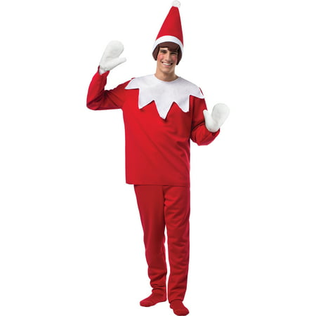 Elf on a Shelf Adult Christmas Costume](Elf Costume Adults Homemade)